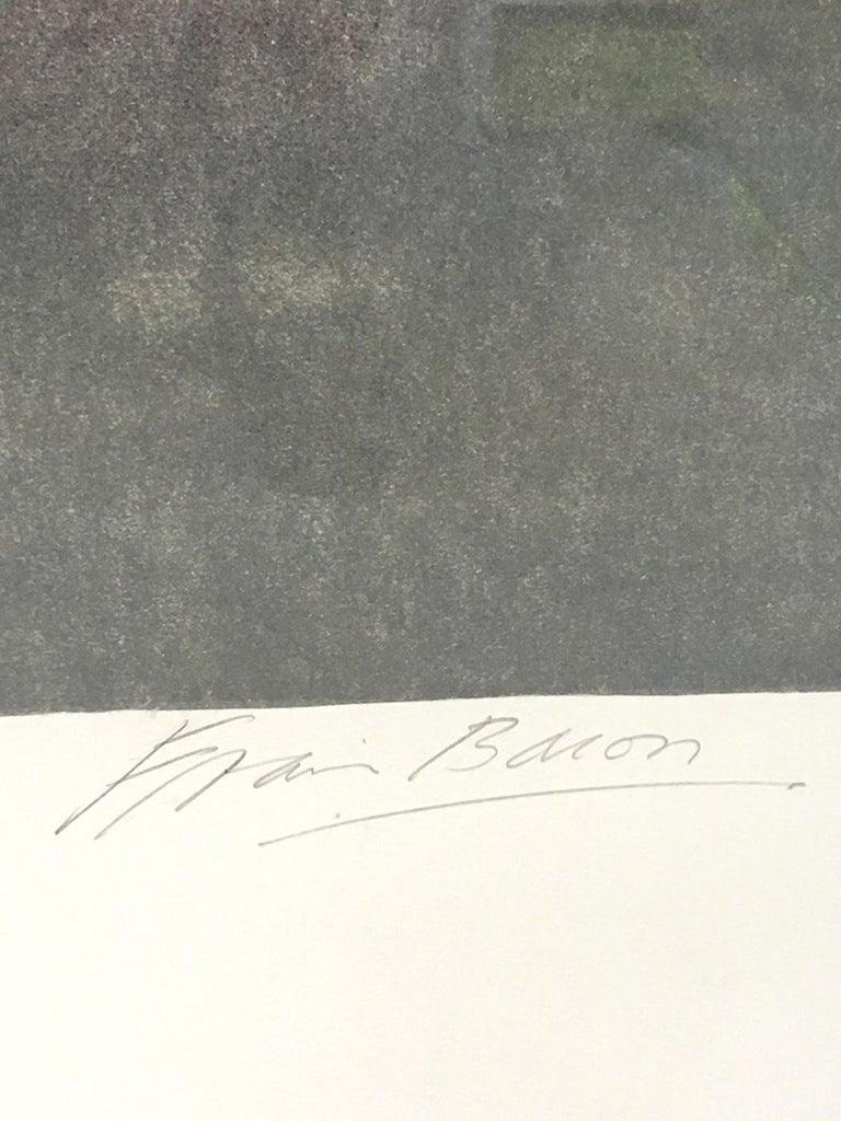 Triptych 1987, Original Lithograph For Sale 1