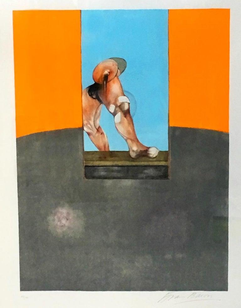 Triptych 1987, Original Lithograph For Sale 2