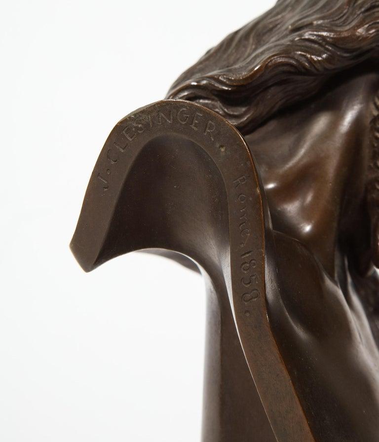 Jean-Baptiste Auguste Clesinger, French Bronze Bust of Jesus Christ, Barbedienne 2