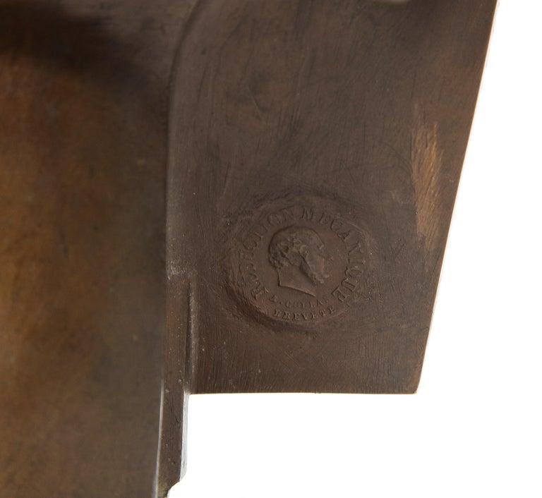 Jean-Baptiste Auguste Clesinger, French Bronze Bust of Jesus Christ, Barbedienne 4