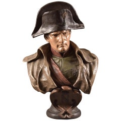 F. Goldscheider, Bust of Napoleon Bonaparte, Terracotta, Late 19th Century