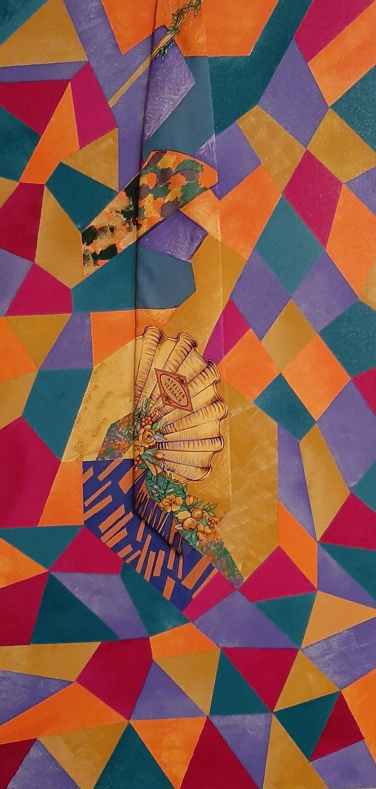Mosaic Seashell, Abstract Painting - Mixed Media Art by F. Gregory Brown