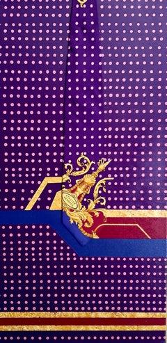 Royal Pink Dots, Abstract Painting