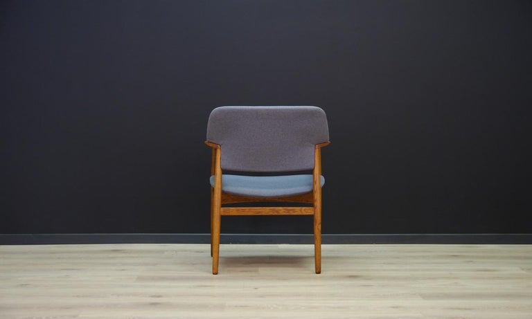 Late 20th Century F. Hansen Armchair Danish Design Vintage Classic For Sale