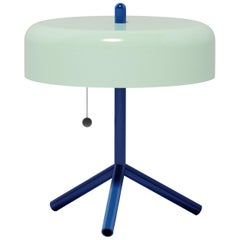 F/K/A Table Lamp in Mint, Cobalt Blue & Cherry Tomato by Jonah Takagi