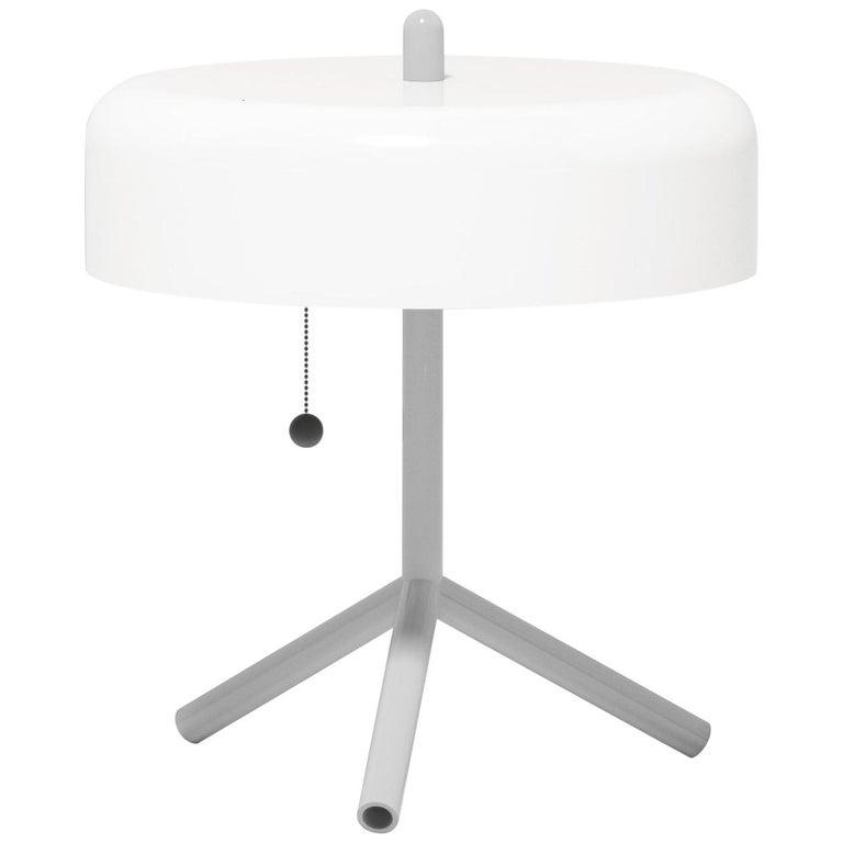 F/K/a Table Lamp in White, Light Grey & Asphalt Grey by Jonah Takagi For Sale