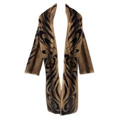 F/W 1999 Roberto Cavalli Mink Fur Long Coat
