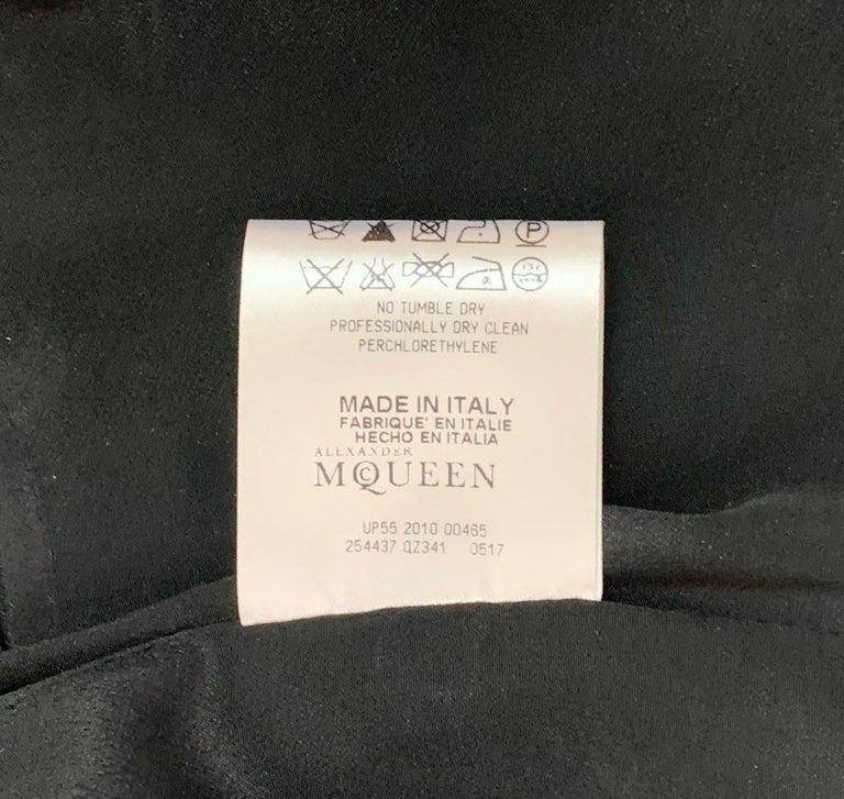 Women's  F/W 2010 Alexander McQueen Angels & Demons Tapestry Silk Jacket