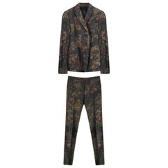 F/W 2012 Look #1 Floral Printed Suit for Men 58 - 48