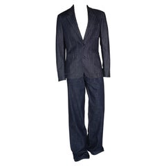 F/W 2015 look #30 NEW VERSACE JEANS SUIT