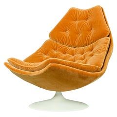 F588 Lounge Chair Designed by Geoffrey Harcourt for Artifort