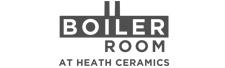 Boiler Room at Heath Ceramics