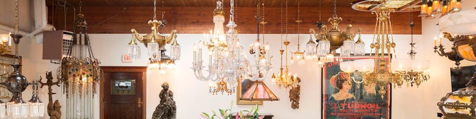 RENEW Gallery Period Lighting and Decorative Arts background