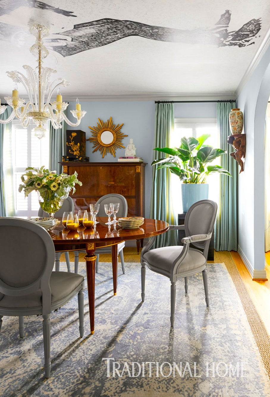 Calmness And Casual Elegance Set The Tone In This Dining Room Interior Designer Mice Nussbaumer Photographer Nathan Schroder Photography Magazine