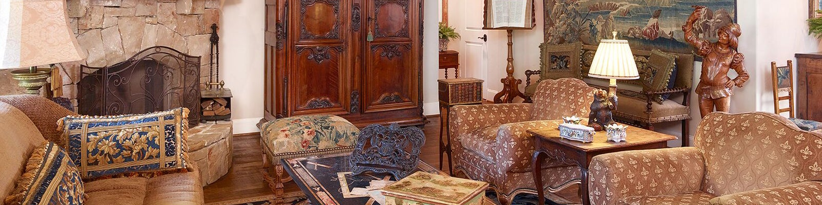 Country French Interiors Inc Dallas Tx 75207 1stdibs