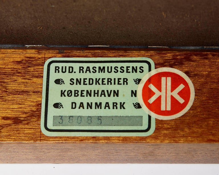 Faaborg Chair Designed by Kaare Klint for Rud. Rasmussen, Denmark, 1914 For Sale 3