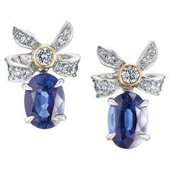 Fabergé Alix Blue Sapphire Imperial Collection Earrings