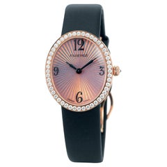 Fabergé Anastasia Diamond and Rose Simplicity Ladies' 18 Karat Rose Gold Watch