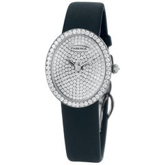 Fabergé  Anastasia Diamonds Ladies Timepieces 18 Karat White Gold Watch