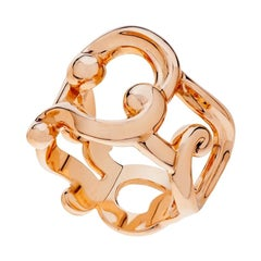 Fabergé Collection Rococo Rose Gold Ring
