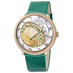Fabergé Compliquée Peacock Emerald