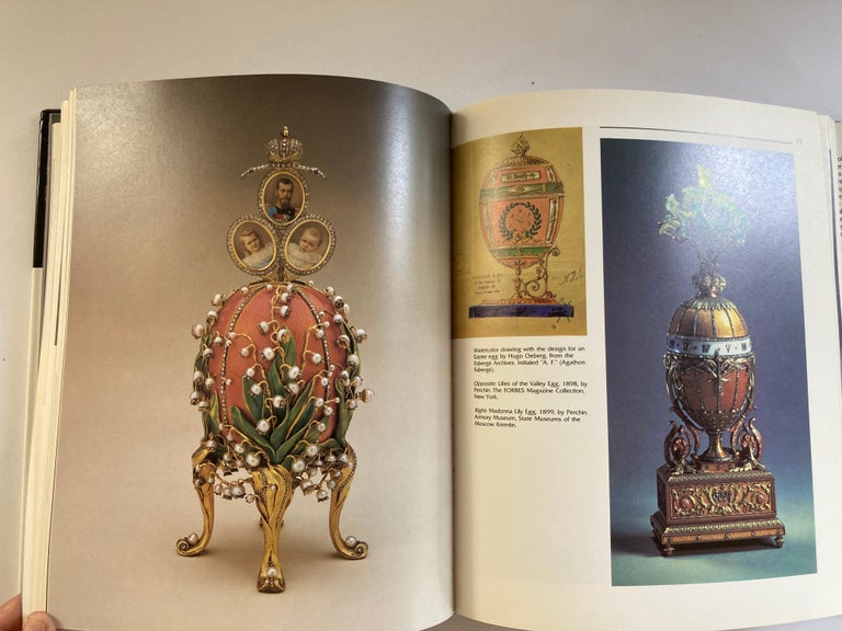 20th Century Masterpieces from the House of Faberge Hardcover Table Book For Sale