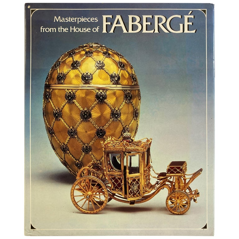 Masterpieces from the House of Faberge Hardcover Table Book For Sale