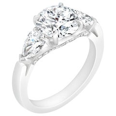 Fabergé Diamond Round Ring