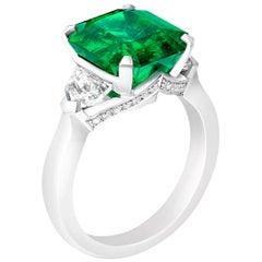Fabergé Emerald Ring