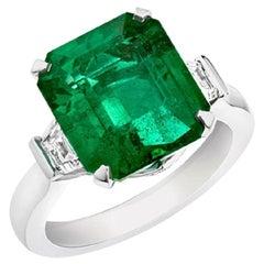 Fabergé Emerald Step Cut Ring