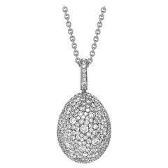 Emotion White Diamond Pendant