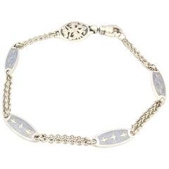 Faberge Enamel Station Bracelet F1885OB