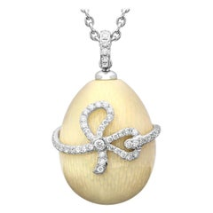 Fabergé Heritage Collection Emaux Sophie Pink Pendant Necklace