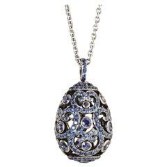 Fabergé Imperial Collection Impératrice Sapphire Pendant Necklace