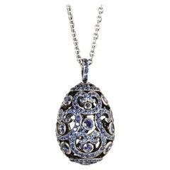 Fabergé Imperial Collection Sapphire Impératrice Pendant Necklace