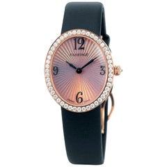 Fabergé Ladies Anastasia Diamond and Rose Simplicity 18 Karat Rose Gold Watch