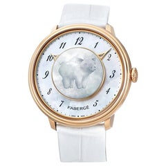 Fabergé Lady Levity 18 Karat Rose Gold with Pig Surprise