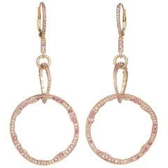Mala Powder Pink Earrings