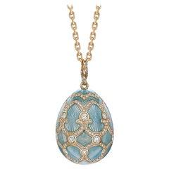 Palais Tsarskoye Selo Turquoise Large Diamond Pendant