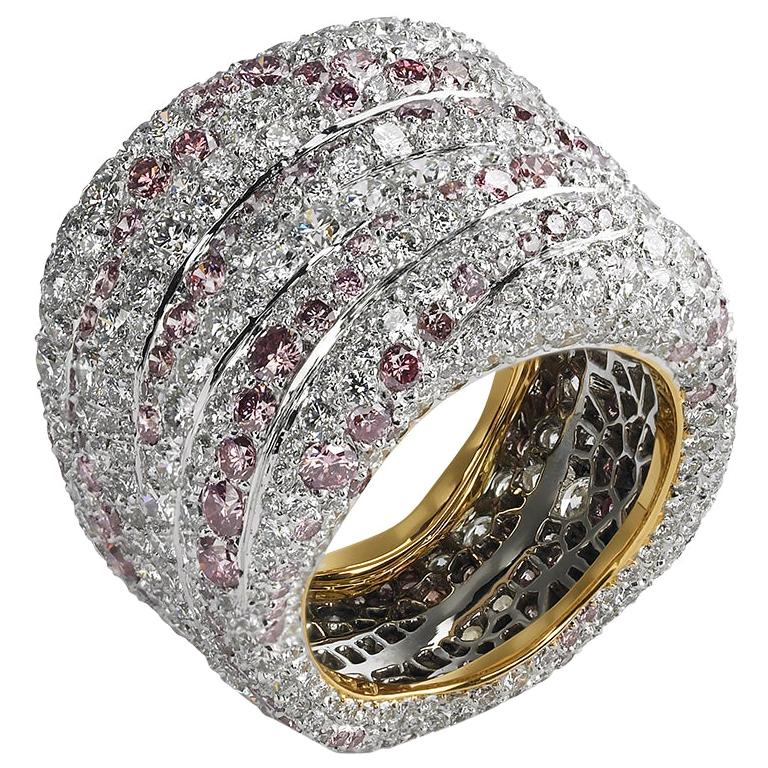 Fabergé Passion Rose et Blanche Ring
