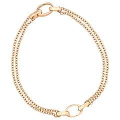Rose Gold Dual Charm Bracelet