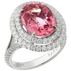 Fabergé Spinel Oval Ring