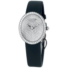Fabergé Timepieces Anastasia Diamonds Ladies 18 Karat White Gold Watch