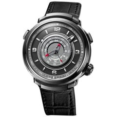 Fabergé Visionnaire Chronograph Men's Black Ceramic Watch