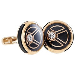Fabergé Visionnaire Diamond Rose Gold Cufflinks