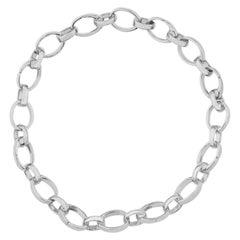 White Gold Charm Bracelet