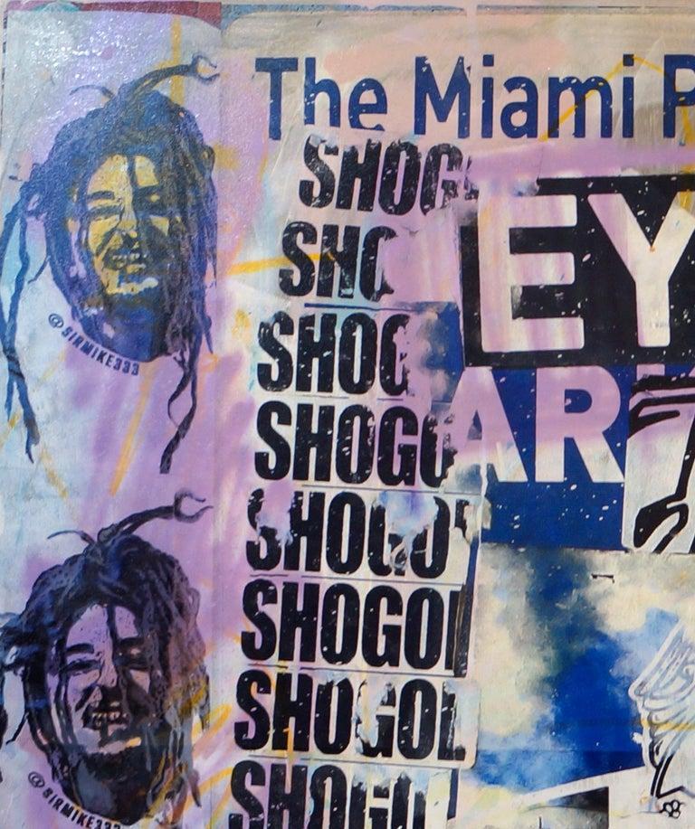Eye love U - Painting by Fabien Rocca