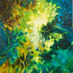 Autumn light 2, Painting, Oil on Canvas