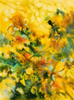 Floral fantasy, Painting, Oil on Canvas