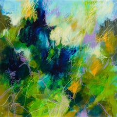 Spring dream, Painting, Acrylic on Canvas
